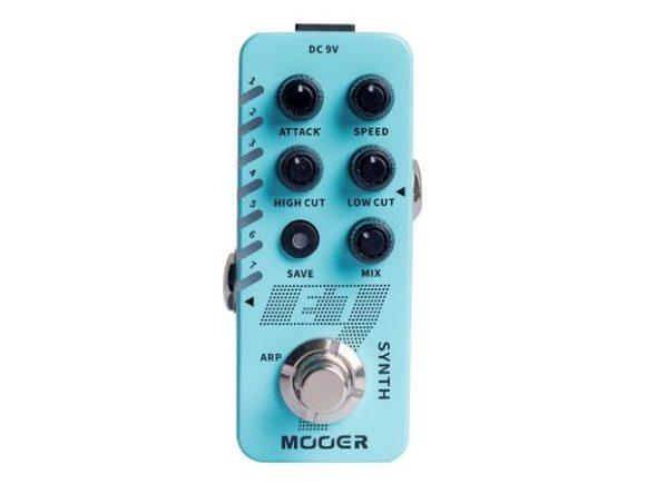 Im Test Mooer E7 Synthesizer Gitarrenpedal