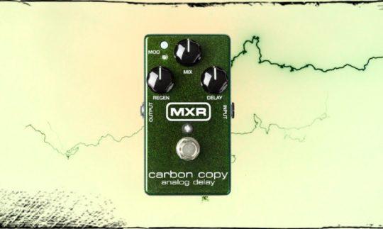 TEST: MXR Carbon Copy, Analog Delay Pedal