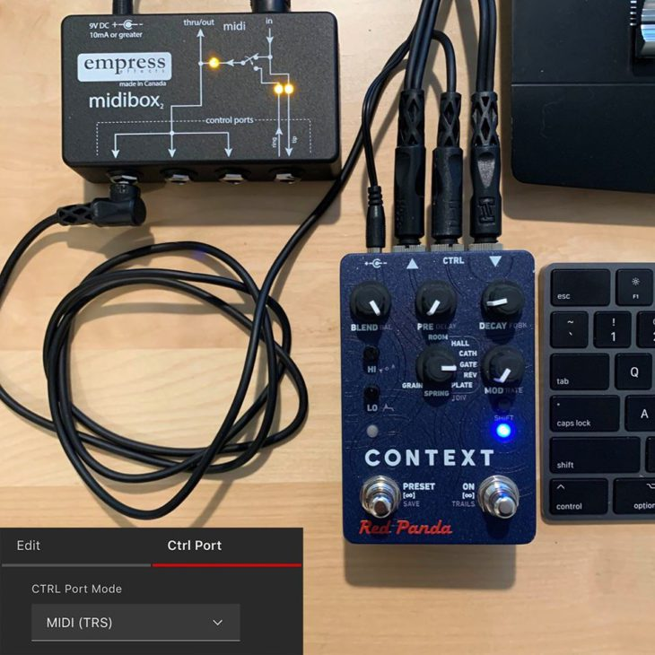 Test Red Panda Context V2, Hall-Pedal