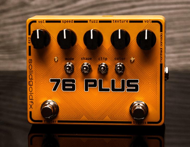Test: Solid Gold FX Lysis Fuzz 76 Plus Fuzz