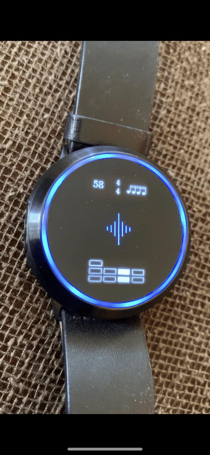 Test Soundbrenner blau