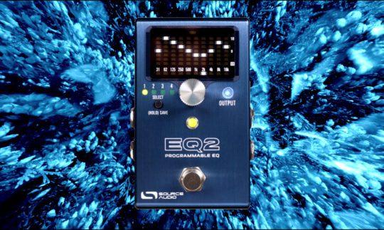 Test: Source Audio EQ 2, Equalizer-Pedal