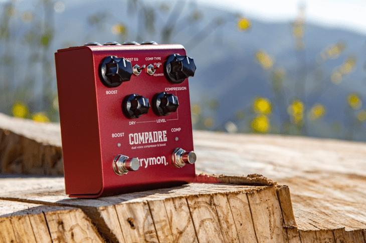 Test Strymon Compadre Kompressor Overdrive Gitarrenpedal