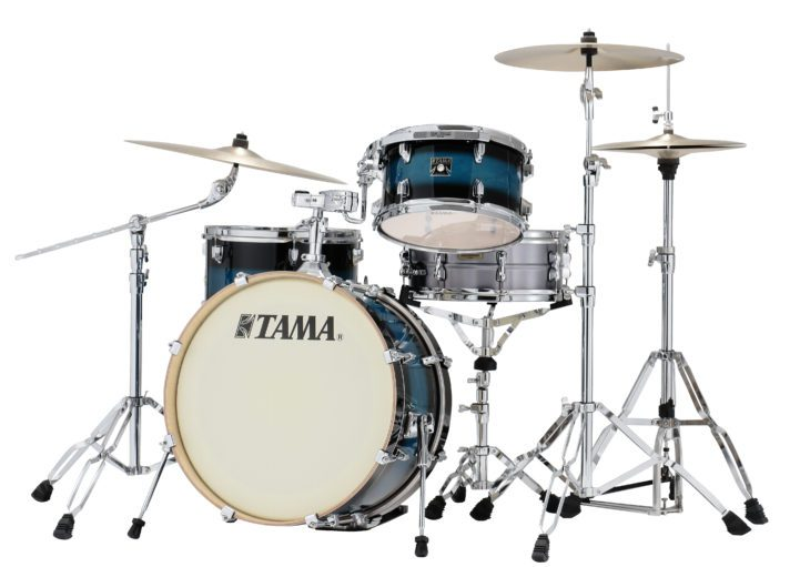 test tama neo mod superstar SHELL KIT MAPLE BLU 1