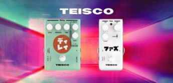 Test: Teisco Delay, Teisco Fuzz, Gitarrenpedale