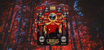 Test: KMA Audio Machines Cirrus, Delay-, Reverb-Pedal