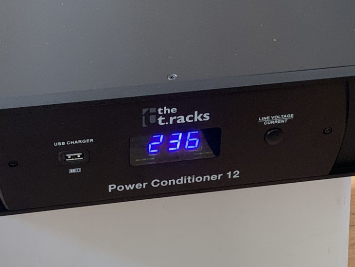 Test: the t.racks Power Conditioner 12 Test: the t.racks Power Conditioner 12 Test: the t.racks Power Conditioner 12