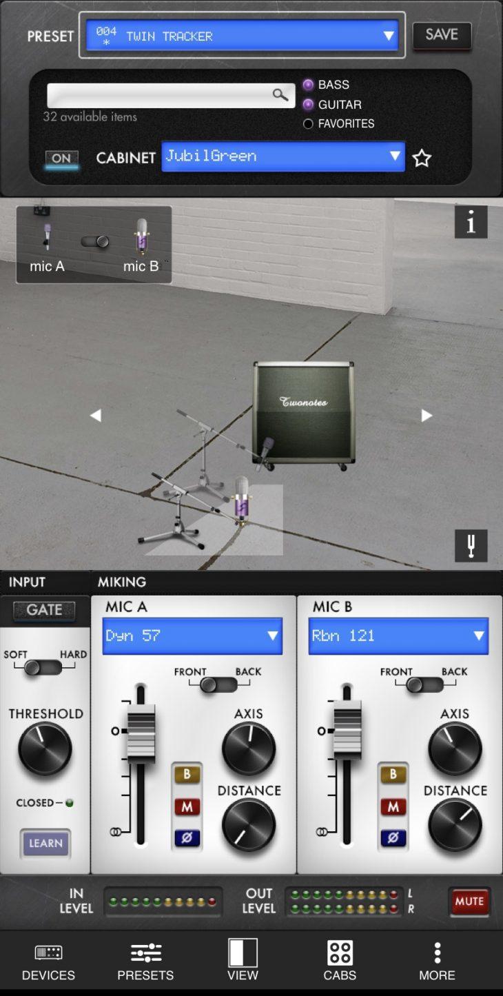 E-Gitarre zu Hause aufnehmen Captor X Software