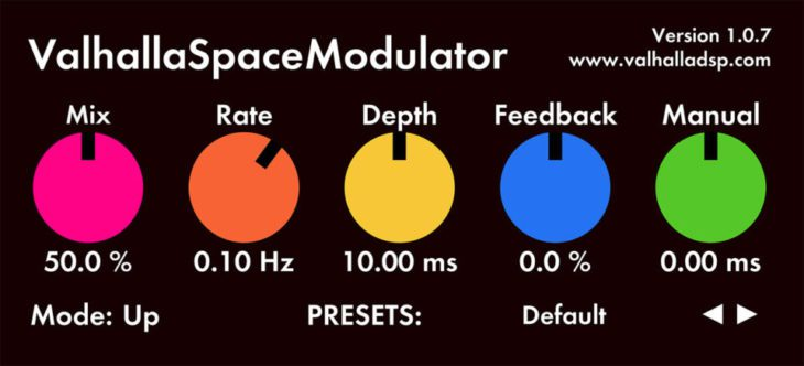 valhalla dsp space modulator