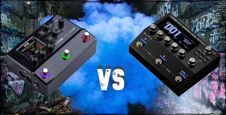 Audiovergleich HX Stomp GT1000 Core