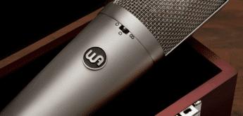 Warm Audio präsentiert WA-87 R2 Mikrofon und WA-12 MK2 Preamp in schwarz