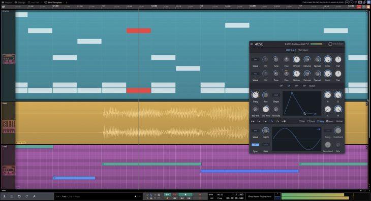 daw waveform free tracktion