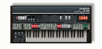 Blue Box: Roland RS-505 und Xils Lab 505 Ensemble-Synthesizer