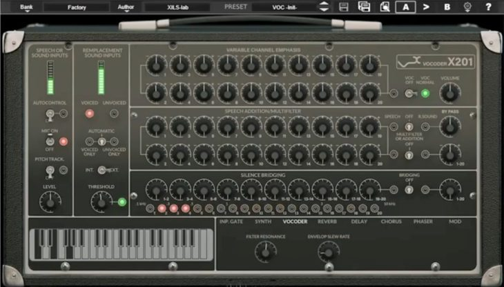 xils lab x201 vocoder plugin