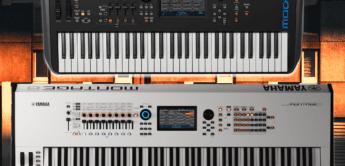 Kostenloses Update für Yamaha Montage und MODX Synthesizer