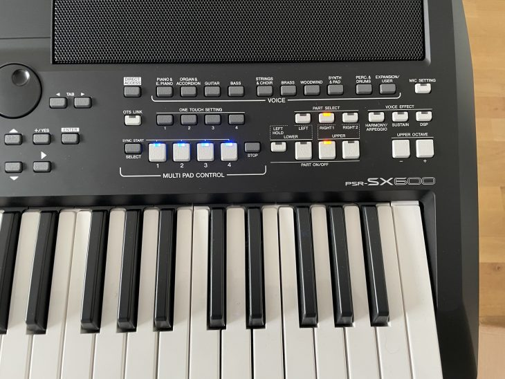 Yamaha PSR-SX600 test