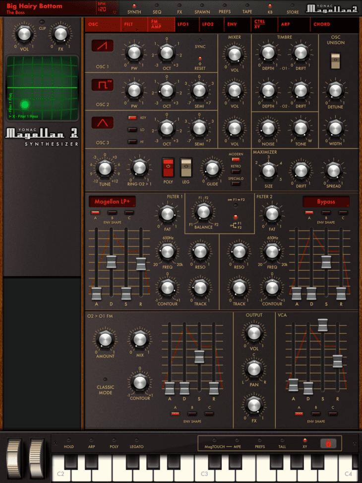Yonac Magellan 2 Synth FIlter FM/ AMP