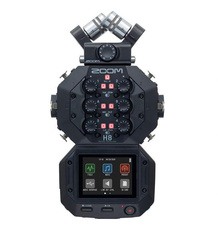 zoom h8 test