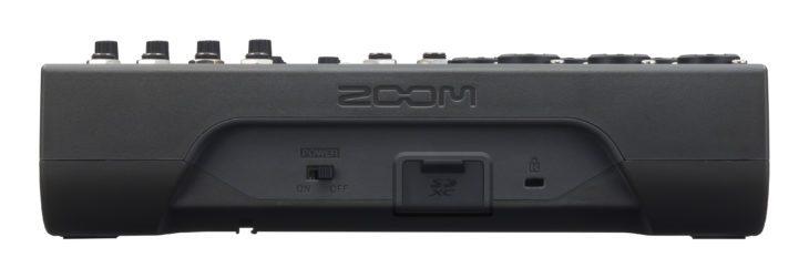 Zoom LiveTrak L-8 Rückseite
