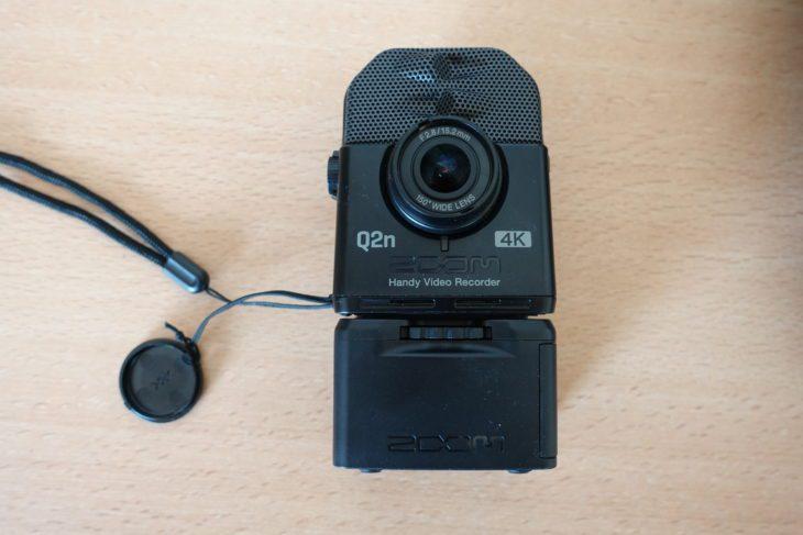 Zoom Q2n-4K Objektiv