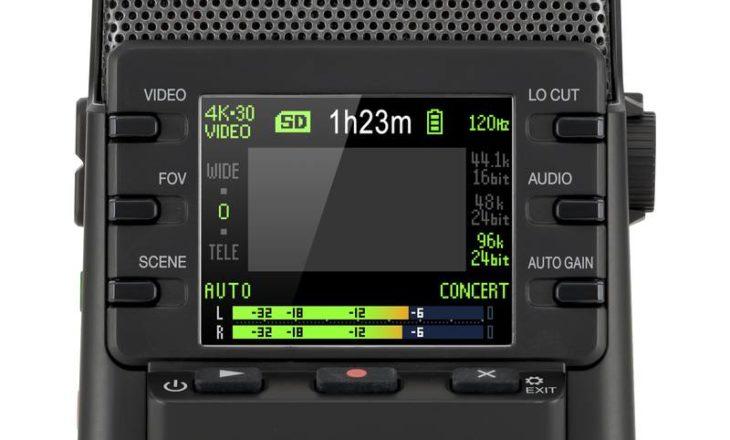 Zoom Q2n-4K Rückseite