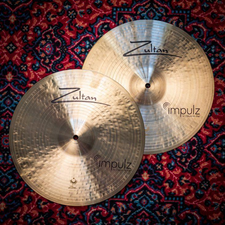 TEST zultan cymbals impulz set 3