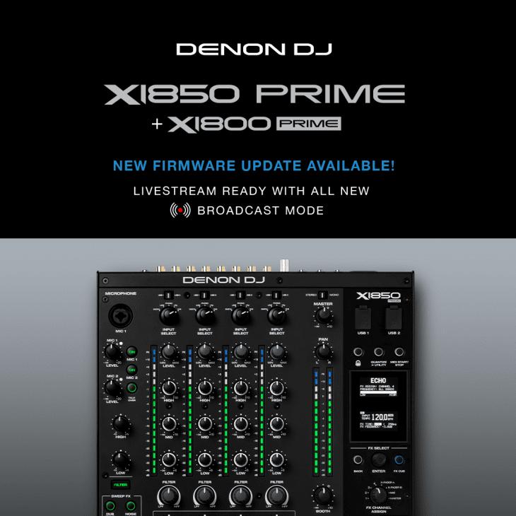 Denon DJ Broadcast Mode