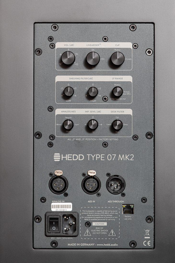 Hedd Type 07 MkII - Rückseite