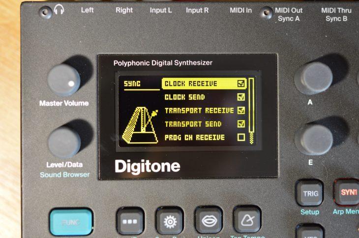 Elektron Overbridge 2.0 - HW MIDI Thru und Sync aktivieren