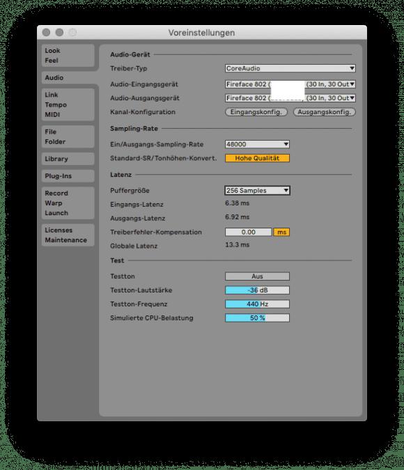 Elektron Overbridge 2.0 Workshop - Live Audio Setup mit 256 Samples