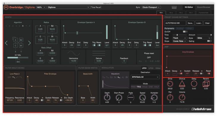 Elektron Overbridge 2.0 - Sektion Synth Voice Sound