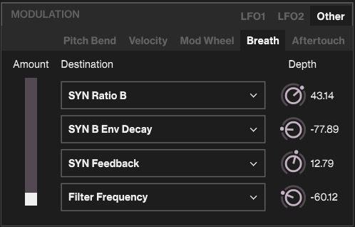 Elektron Overbridge 2.0 - Synth Voice 2 SNR MIDI Routing CC2