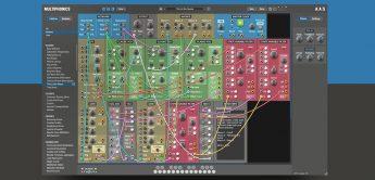 AAS Multiphonics CV-1, Software-Modularsynthesizer