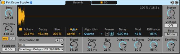 Ableton Live 11 - Hybrid Reverb
