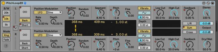Ableton Live 11 - PitchLooop89