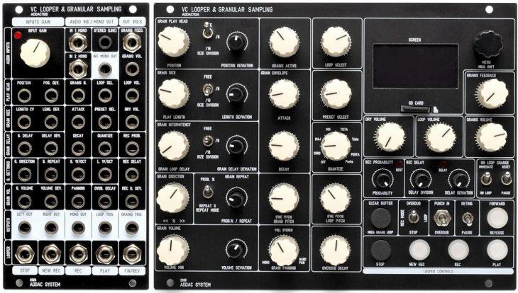 ADDAC System VC Looper & Granular Sampling