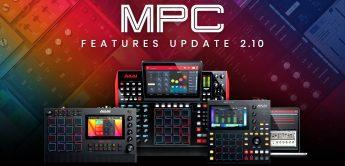 AKAI MPC 2.10 Update: Neue Instrumente, Effekte, erweiterte USB-Unterstützung