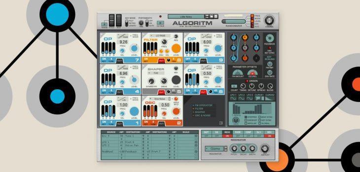 reason studios algorithm fm-synthesizer plugin