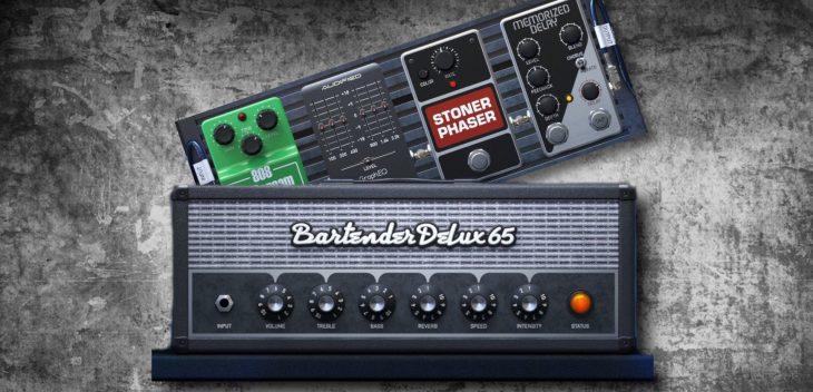 Audified Amplion Gitarre Plugin Test