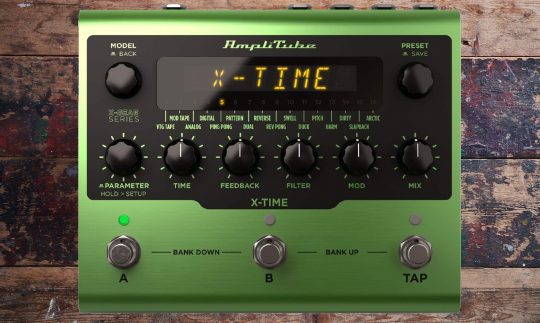 Test: Amplitube X-Time, Delay-Pedal