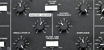 AMSynths Prague, Analog-Synthesizer nach Moog Prodigy