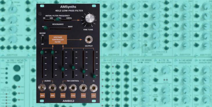 amsynths 8012 vcf filter-module eurorack
