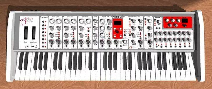 artisan nucleus polyphonic keyboard synthesizer
