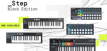 Arturia KeyStep 37, KeyStep Pro, BeatStep Pro Black Edition, Controller