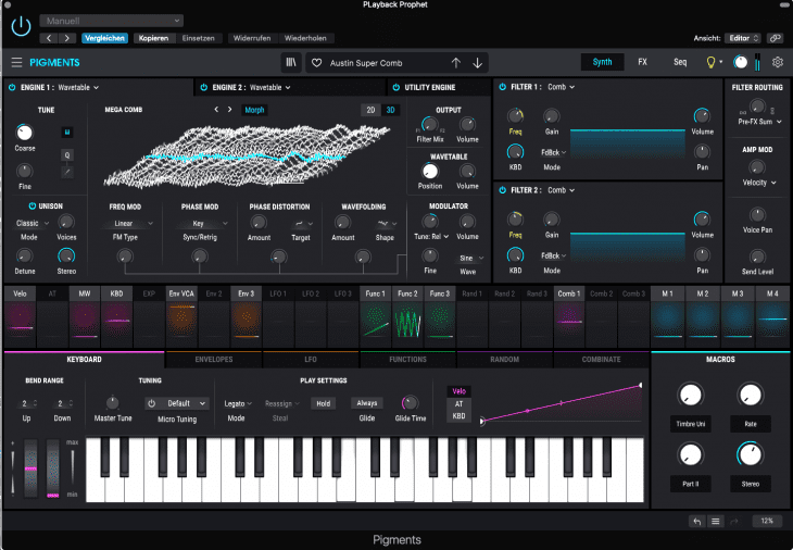 Arturia Pigments 3 Software-Synthesizer