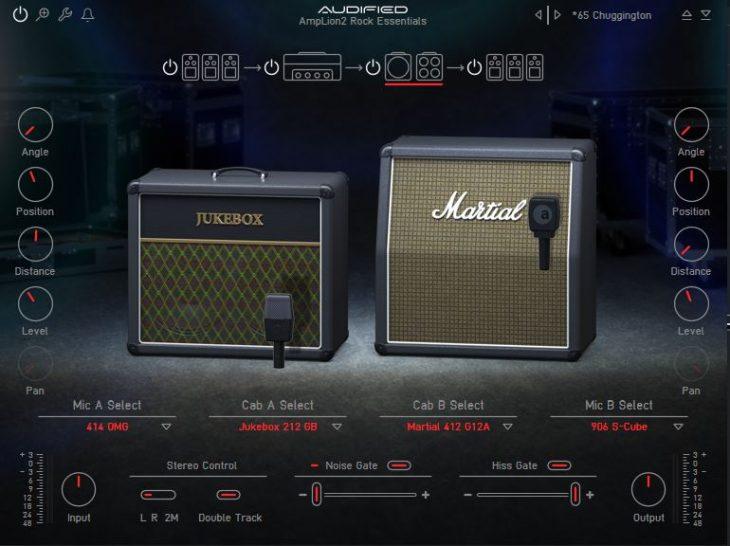 Audified ampLion 2 Rock Essentials cab sim