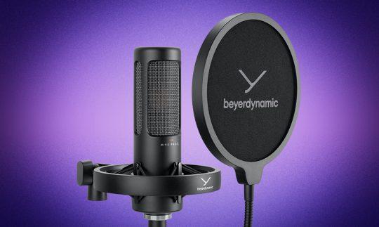 Test: Beyerdynamic M 90 Pro X, Kondensatormikrofon
