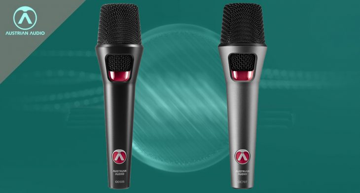 austrian audio oc707 od505 microphone