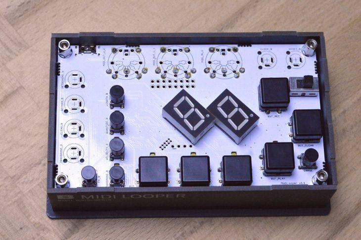 Bastl MIDI Looper - Aufgeschraubt