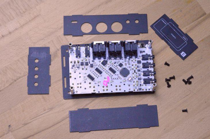 Bastl MIDI Looper - Auseinandergelegt
